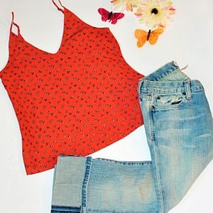 2 Items Abercrombie & Fitch Top and Ankle Jeans